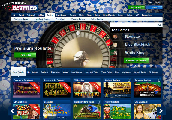 download online casino extra gold